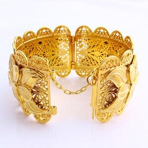 2020 Новинка 70 мм африканская монета Наполеона модный браслет с большими подвесками золотой цвет Дубай ювелирные изделия Эритрея JH брендовые Браслеты Аксессуары