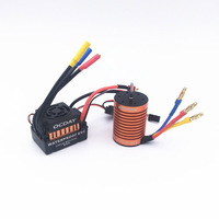 1PC Brushless 7.4V 11.4V Motor Brushless ESC Electric Speed Controller 4370KV/9T/60A for RC Model Cars Spare Parts BEC 3A 5.5A