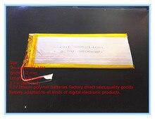 Nouveau 3.7 V lithium polymère batterie rechareable batterie 3552140 pl 3800 mah comprimés