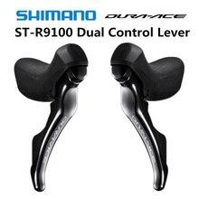 Рычаг переключения SHIMANO 9100 ST R9100, двойной рычаг управления 2x11 Speed DURA ACE R9100, рычаг переключения передач для дорожного велосипеда 22s