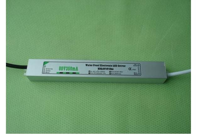 waterproof led constant current driver;AC90-250V input;output 350mA/28W;P/N:YL-80350L