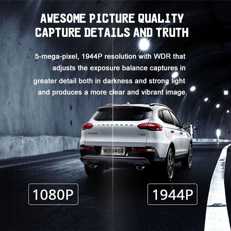 Nouveau Xiaomi 70mai Dash Cam Pro GPS IMX335 WIFI Voix Smart Control Nuit Version DVR 1944 P HD 140FOV caméra embarquée pour voiture 24 H moniteur de stationnement - 3