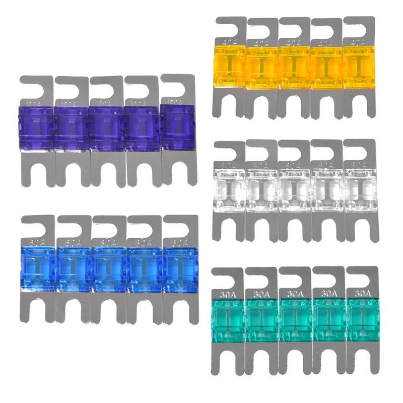 5pcs AGU FUSE RELIABLE 30 amp FUSES GOLD PLATED FREE SHIPPING