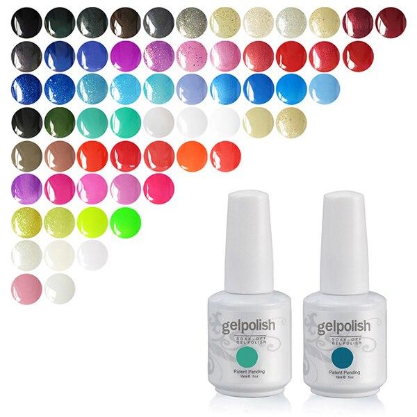 223 Colors 15ml Gelpolish Eco Friendly Nail Gel Polish Brands UV ...