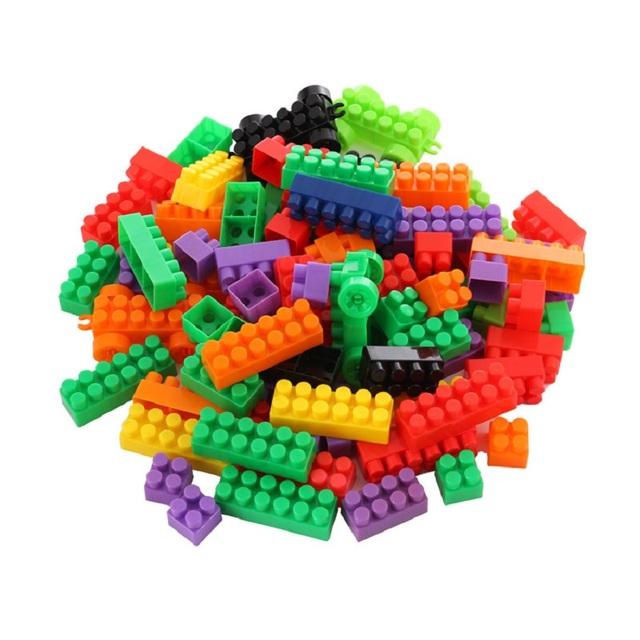 Colorful Building Blocks Set