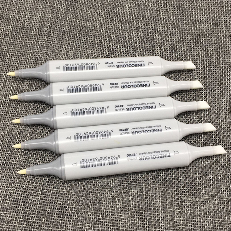 FINECOLOUR Dual Tips Colorless Blender Sketch Drawing Art Markers