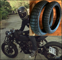 Ретро модифицированный мотоцикл All Terrain вакуумная шина 110/70 17 130/70 17