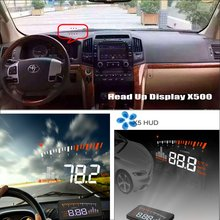 цена на Car Computer Screen Display Projector Refkecting Windshield For TOYOTA Land Cruiser LC 200 LC200 2008~ 2014 Saft Driving Screen