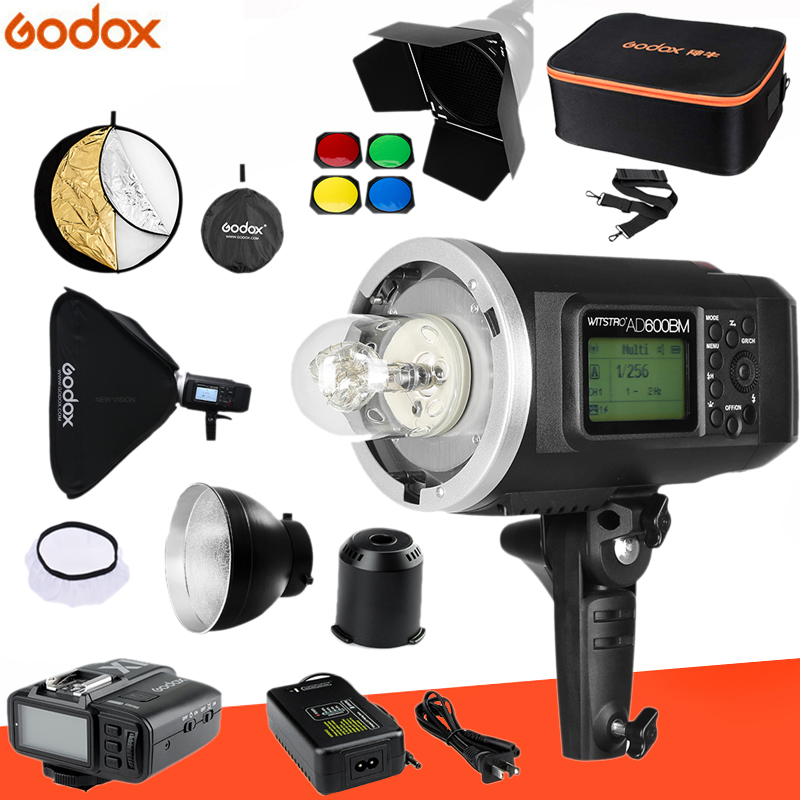 Godox AD600BM Bowens Mount 600Ws GN87 1/8000 HSS Outdoor Flash Strobe Monolight with X1T Wireless Trigger/ 32