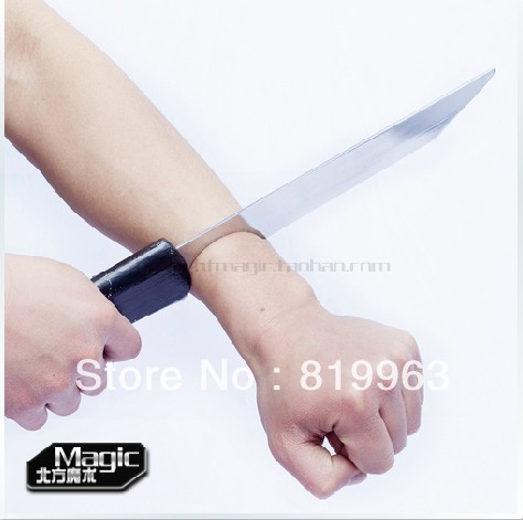 Magic knife,Amputation of the hand,Halloween props,frighten,stage magic,Close-Up,magic props
