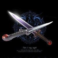 Anime Kader/kalmak gece Kader/Sıfır Tohsaka Rin cosplay prop Azoth kılıç Silah sanat eseri Japon Anime Karikatür Cosplay Aksesuar