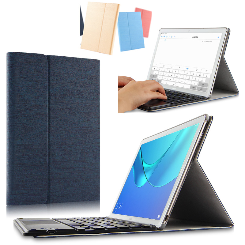 Removable Wireless Bluetooth Russian/Hebrew/Spanish Keyboard Stand PU Leather Case For Huawei MediaPad M5 10.8 CMR-W09 CMR-AL09 removable wireless bluetooth russian hebrew spanish keyboard stand pu leather case for samsung galaxy note 8 0 n5100 n5110