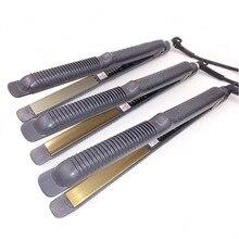 Sale straightening iron Professional Temperature Control Titanium Electronic hair straighteners tools Straightening corrugated Iron