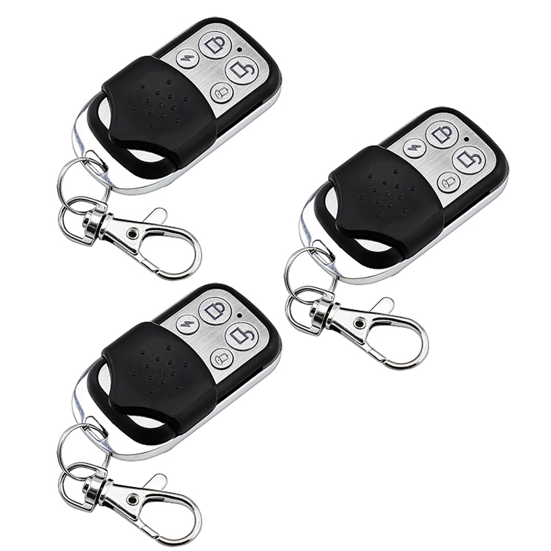 3pcs Wireless Remote Control Controller Keyfobs Keychain 433MHz  PT2262 4.7M for our Alarm System free shipping 3 pieces lot wireless remote control controller keyfobs keychain 433mhz just for our alarm system