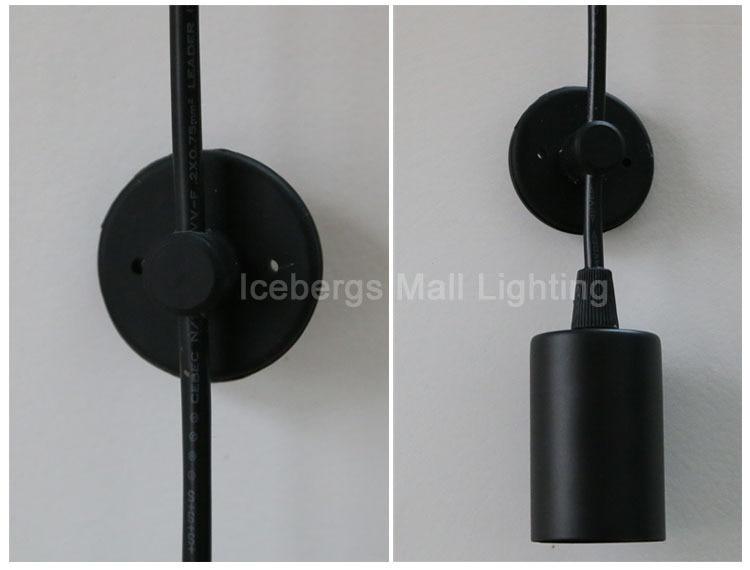 Nordic moderno retro edison lâmpada luz do candelabro sótão vintage antigo ajustável diy e27 arte aranha pingente de iluminação para casa