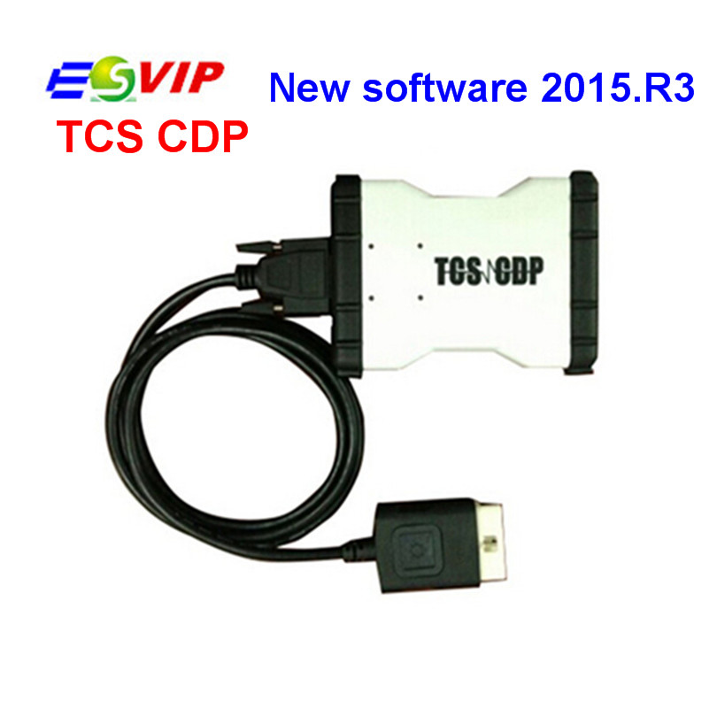 Top selling New design cdp with 2014.R2/R3 2015.R3 New TCS CDP PRO For CAR AND TRUCK TCS CDP PRO without Bluetooth