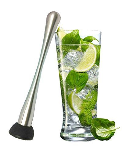 stainless steel 8 inches ABS bar/ice/fruit muddler/pestle Cocktail Muddler Moscow Mule barware Bar & cooking &kitchen &beer tool