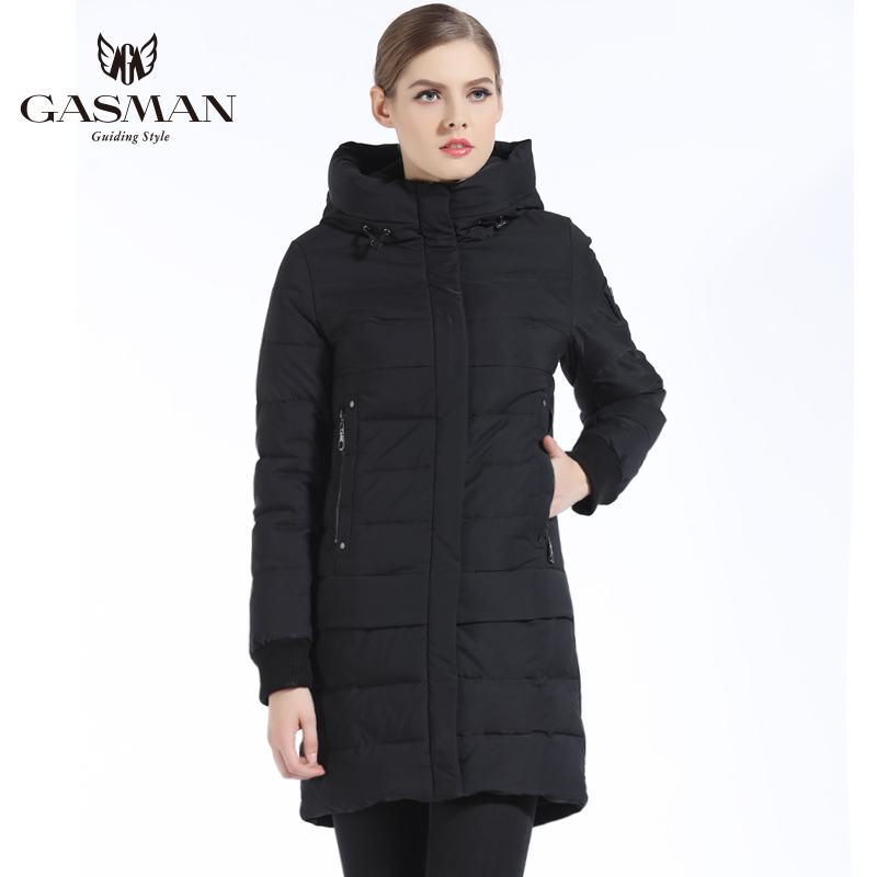 b465c604a GASMAN 2018 New Women Winter Down Jackets And Coats Brand Hooded ...
