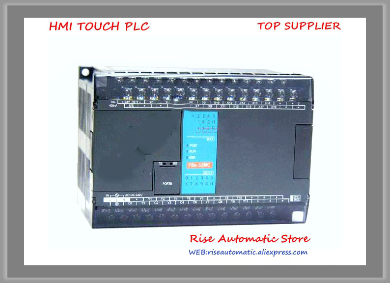 FBs-32MCR2-AC Fatek New Original PLC AC220V 20 DI 12 DO relay Main Unit fbs 20x fatek plc 24vdc dio expansion modules new original