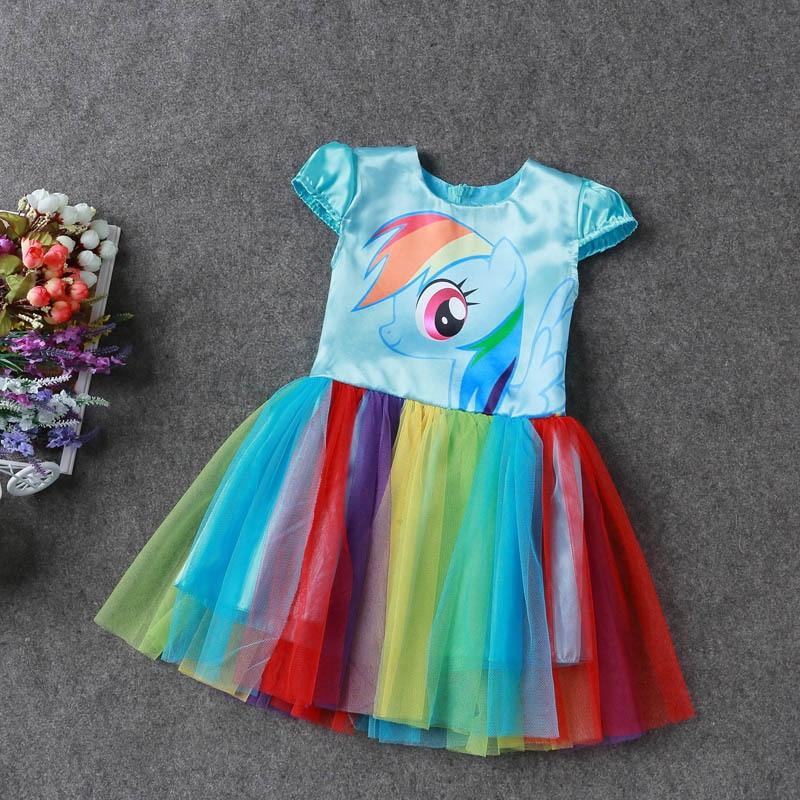 Yaz My Baby Girl moda Pambıqlı paltar Uşaq geyimləri Qızlar - Uşaq geyimləri - Fotoqrafiya 5