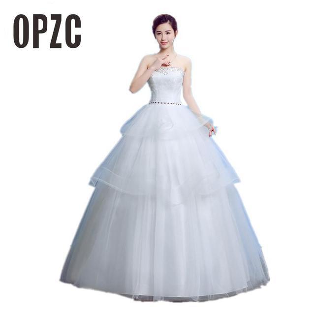 Velnosa Hot Sale Elegant White wedding dress 2017 Summer Korean ...
