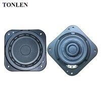 TONLEN 2PCS 3 Inch Full Range Speaker 8 Ohm 15 W Slim Subwoofer Speakers DIY Portable
