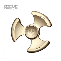 FEGVE Copper Stone wash/Sandblasting EDC Spinner Fidget Toys Hand Spinner Metal Fidget Spinner and ADHD Adults Toys SL110