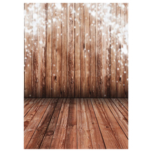 ETC 1.5X2.1M Wood Floor Studio Backdrops Photography Photo Gallery Background Light Brown