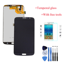 100% Working LCD Display+Touch Screen part Digitizer  For Samsung Galaxy Mega 6.3 i9200 i9205 Black+With free tools