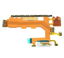 Original for Sony Xperia Z2 L50W Power On Off Volume Button Switch Flex Cable Microphone flex