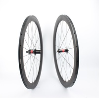 Farsports FSC50-TM-23 DT240 hub (36 trinquetes) 23mm de ancho tubular de carbono con ruedas DT hub, 50mm en forma de U aero ruedas de bicicleta de carretera