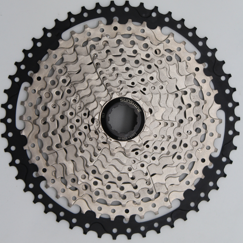 11-50T 11 Speed MTB Bike Cassette Mountain Bicycle Freewheel Wide Ratio 1 pcs bike freewheel 11 50t 11 speed mtb bike cassette mountain bicycle freewheel wide ratio csmx sprockets