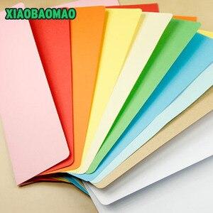 Image 3 - 50 ピース/ロット 162X230mm 色洋式封筒 A5 ブランク法案受信バッグギフト封筒ペーパー Enveloppe