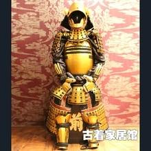 I may wear Japan's armor Leyasu Tokugawa Japanese Restaurant craft ornaments Samurai armor model