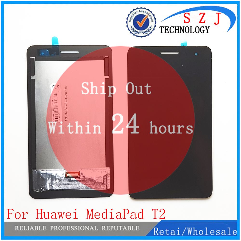 New For Huawei MediaPad T2 7.0 LTE BGO-DL09 BGO-L03 BGO-L03A LCD Display and with Touch Screen Digitizer Assembly lcd screen display touch digitizer for 5 5 huawei g8 rio l02 rio l03 white black gold color free shipping