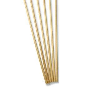 Image 5 - 6 pçs seta de madeira 80cm convencional eixo de madeira com 5 polegada escudo pena para caça tiro com arco e flecha haste