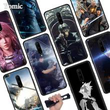 Final Fantasy Black Soft Case for Oneplus 7 Pro 7 6T 6 Silicone TPU Phone Cases Cover Coque Shell