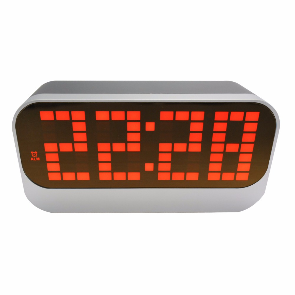 DYKIE Large Size LED Weather Station Indoor Thermometer Alarm Clock Digital Temperature Meter Display Memory Table Clock dykie weather station temperature recorder digital alarm clock indoor intelligent thermometer alarm clock with memory function