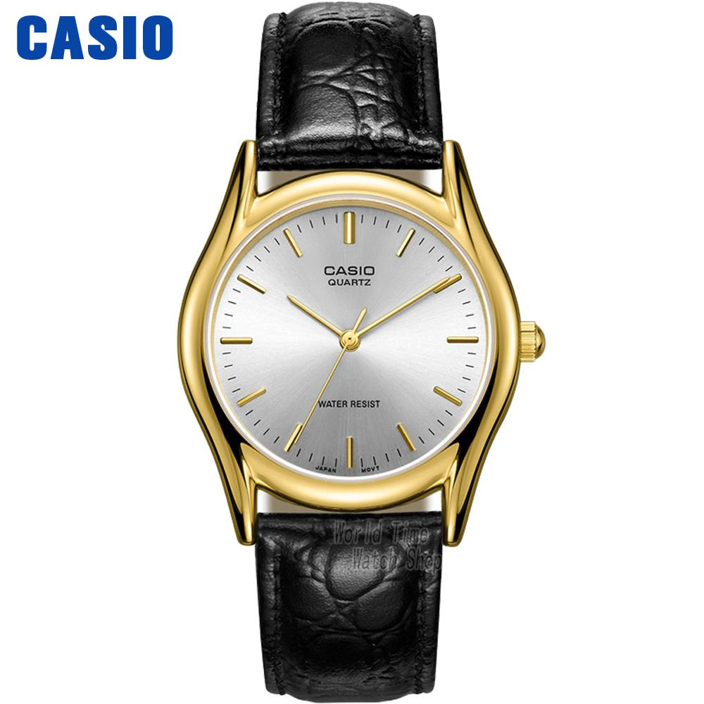 Casio watch Simple black belt pointer quartz male watch MTP-1094Q-7A MTP-1094Q-1A MTP-1094Q-9A MTP-1094E-7A MTP-1094E-7B casio sheen multi hand shn 3013d 7a