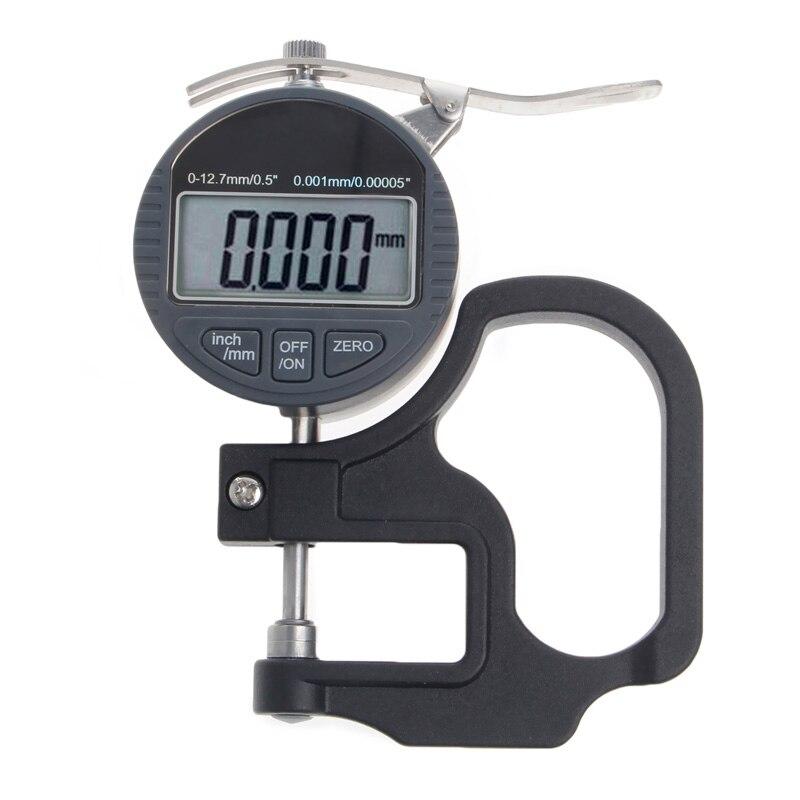 Цифровой микрометр 0,001 12,7 мм электронный Толщина глубиномер ЖК-дисплей измерения