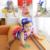 Bebé del traje de Baño 3 Unidades Muchachos Del Verano Trajes de Baño Del Niño Dividida Traje de Baño lindo de Los Niños de dibujos animados estereoscópicas Muchachas de la Impresión del traje de Baño