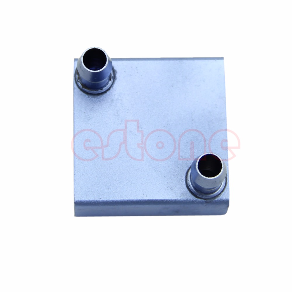 Water Cooling Aluminum Block for CPU Radiator Liquid Water Heatsink Cooler GPU