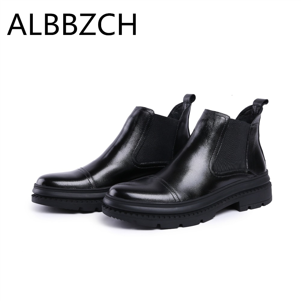 New chelsea boots shoes men quality work boots fashon dress shoes round toe slip on zip design mens male ankle boots botas 38 44New chelsea boots shoes men quality work boots fashon dress shoes round toe slip on zip design mens male ankle boots botas 38 44