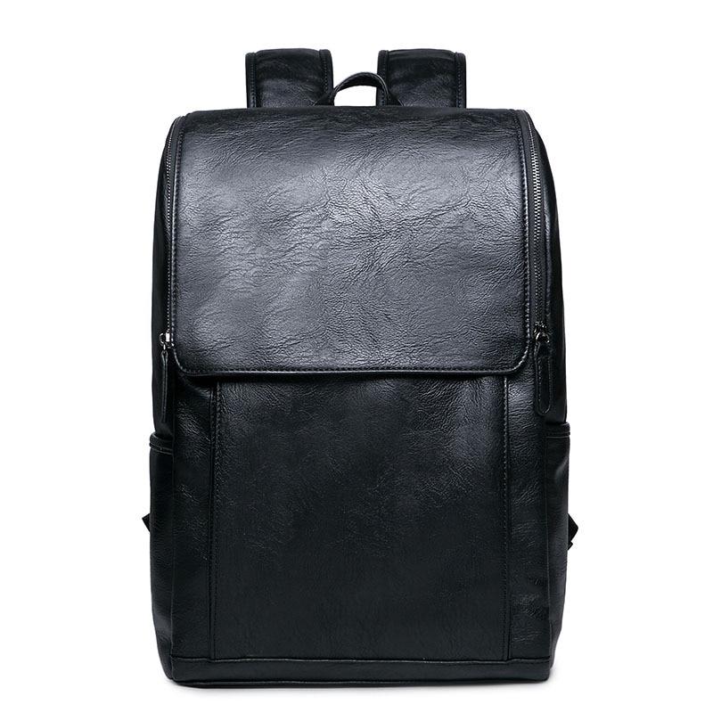 6ed384099e4f Новый модный бренд Дизайн Для мужчин Дорожная сумка человек рюкзак кожаная  сумка для ноутбука школьный рюкзак компьютер рюкзак Эсколар ..