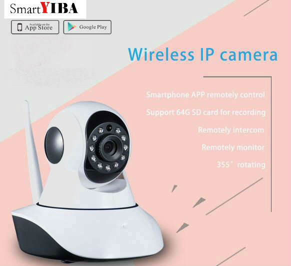 SmartYIBA 720P Yoosee IP Outdoor Camera Wifi For Wifi Alarm System IOS Android APP Control indoor Camera Night Vision детская игрушка new wifi ios