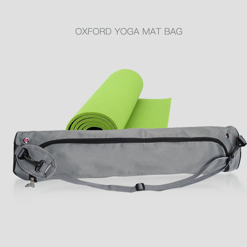 13 73cm Yoga Mat Bag Canvas Strap Exercise Gym Fitness Pilates Carrier Backpack For Thick Yoga Mat Bag Relefree 13