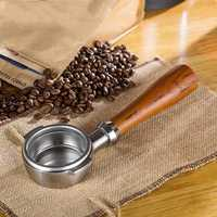 Espresso Bottomless Portafilter 58MM Universal Coffee Machine Handle Fit for Expobar E61 WEGA ASCASO Semremo Rocket GEMILA