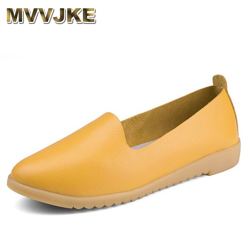 MVVJKE Summer Simple Genuine leather Breathable Woman Flat Shoes For Women Loafers Chaussure Femme Ladies Trainers Zapatos Mujer new casual shoes woman oxford shoes for women loafers designer round toe flat shoes ladies leather shoes derbies chaussure femme