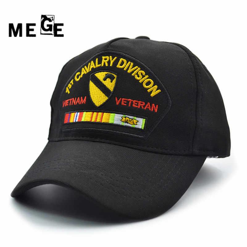 2012f0ae MEGE 1st CAVALRY DIVISION Army Cap for Fishing, Sombrero gorra de pesca,  Outdoor Sports