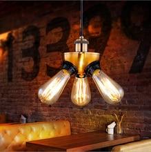 Nordic Amerikanischen Village Cafe Den Persnlichkeit Industriellen Kupferkopf Stativ Kronleuchter Leuchten Restaurant Lampe Le